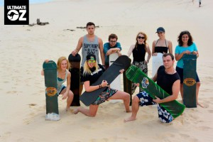Sandboarding at BaseCamp