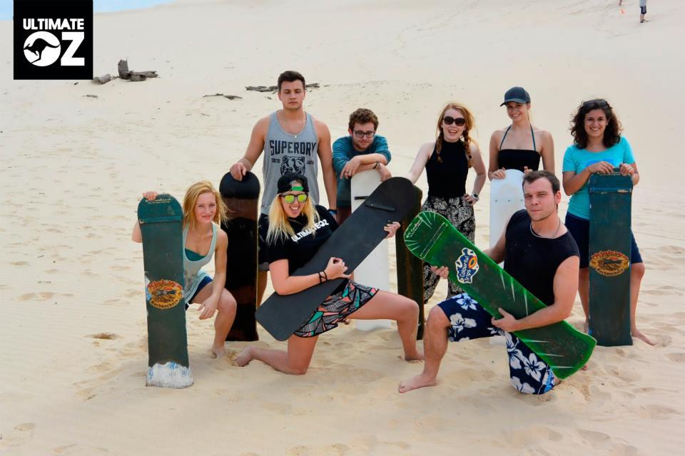 Sandboarding at BaseCamp