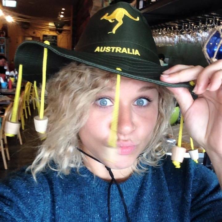 Getting into the Aussie spirit!
