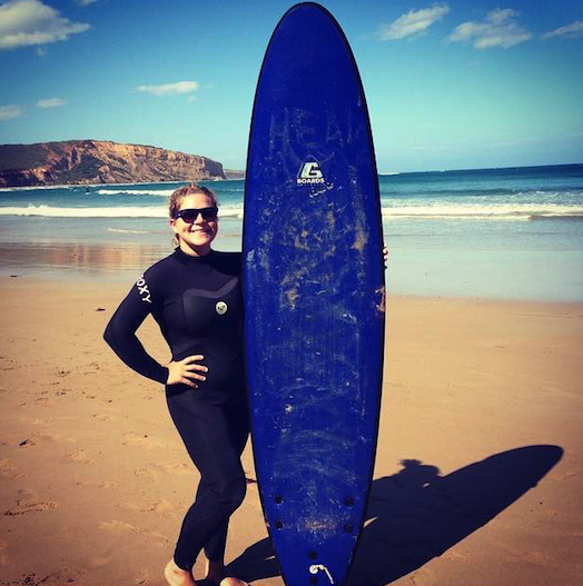 The East coast of Oz is a great place to surf!