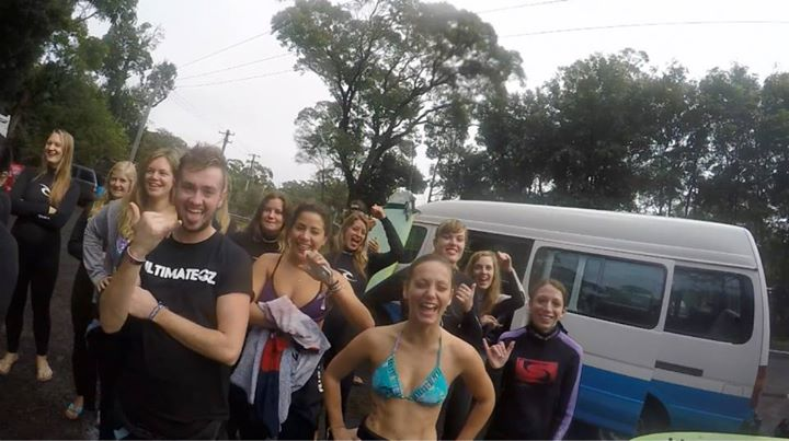 You'll meet lots of people at Surfcamp