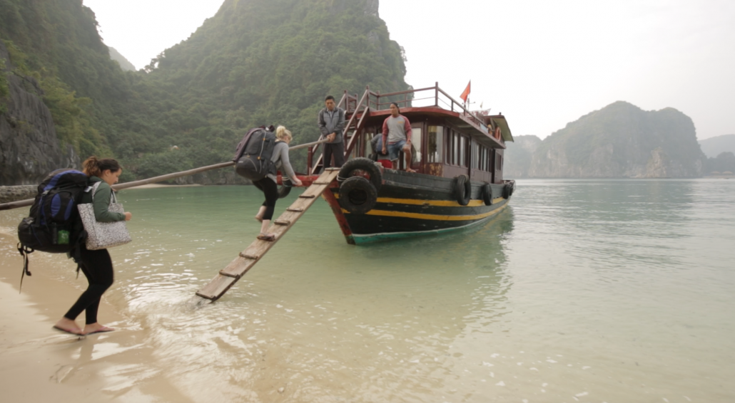 Island hopping in Southeast Asia